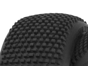 HB RACING- HB Gridlock Mounted Tire (Wheel/1:8 Buggy)