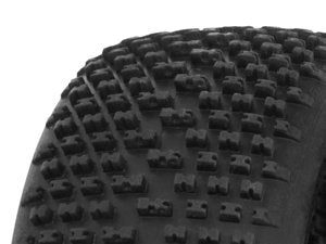 HB RACING- HB Khaos Mounted Tire ( Wheel/1:8 Buggy)