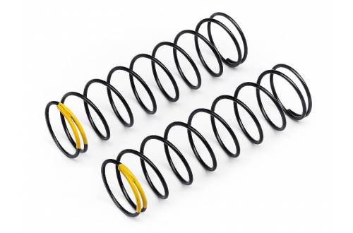 HB RACING Shock Springs (Yellow/83mm/65.7gF/2pcs) OPTIONAL