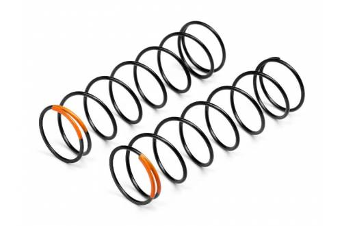 HB RACING Shock Springs (Orange/83mm/82.1gF/2pcs) OPTIONAL