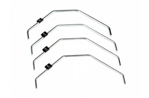 HB RACING Front Sway Bar Set V2 (2.0, 2.2, 2.4, 2.6mm)