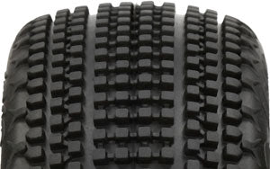 HB RACING HB Gridlock V2 Mounted Tire ( Wheel/1:8 Buggy)