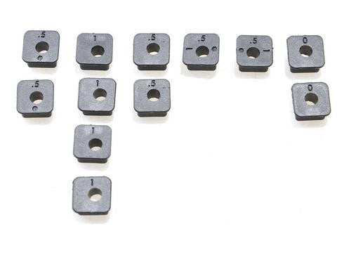 SQUARE INSERT SET (12PCS)