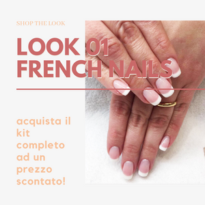 LOOK 01 - French Nails