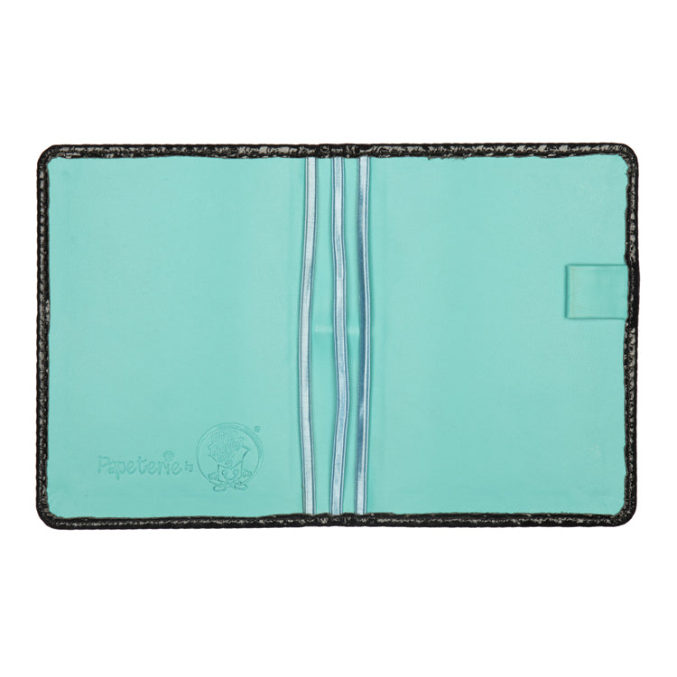 Multiple Passport Holder Black and Green