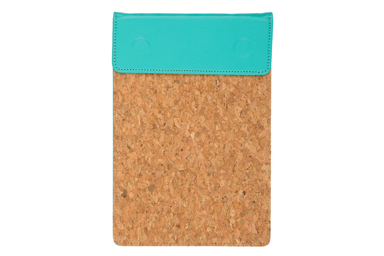 MAGNETIC WRITING PAD - FIROZI GREEN & CORK A/5