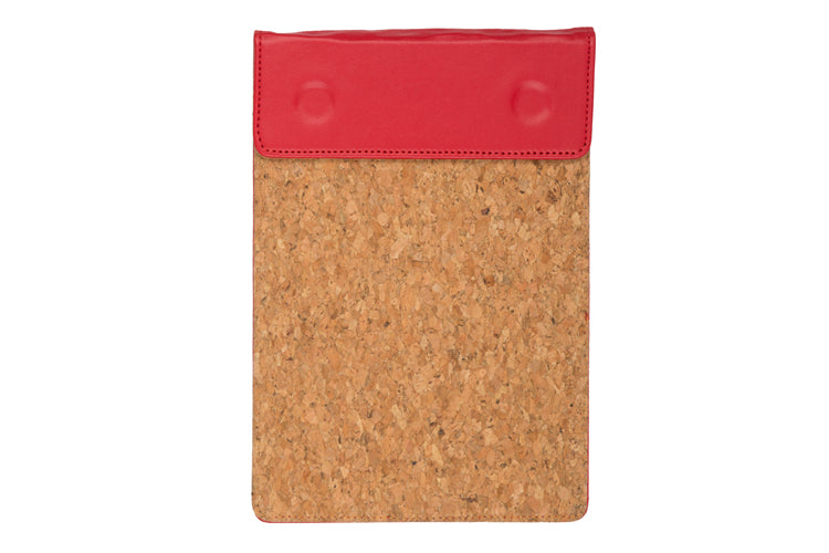 MAGNETIC WRITING PAD - RED & CORK A/5