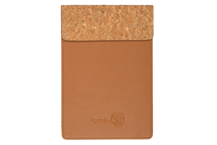MAGNETIC WRITING PAD - TAN & CORK A/5