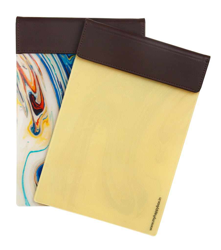 Luxe Magnetic Pad - Beige swirl