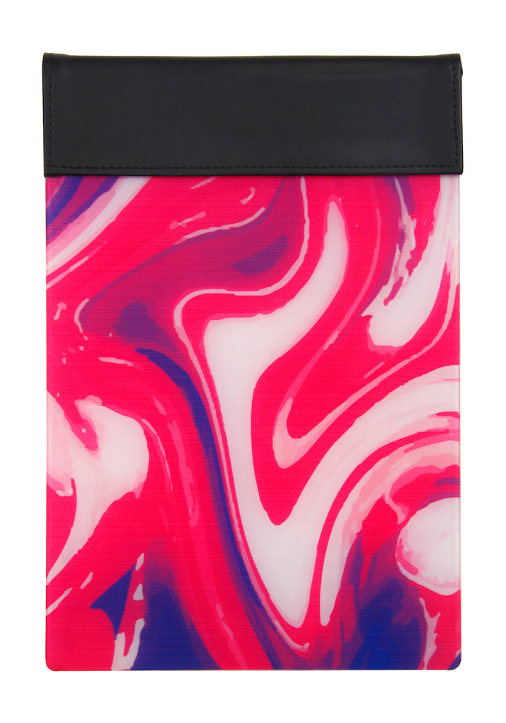 Luxe Magnetic Pad - Pink swirl