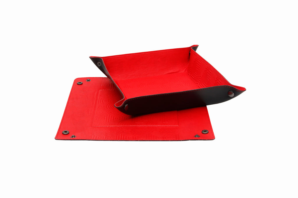 EDC / TRAVEL TRAY Red and Black (Big)