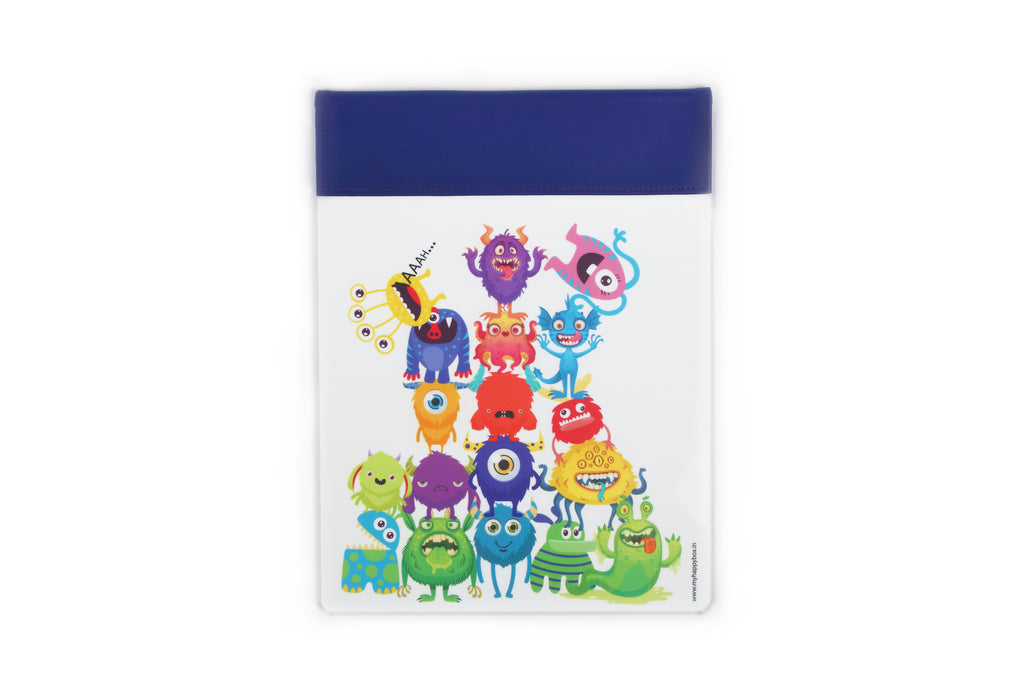 Acrylic Magnetic Pads - Monster Party