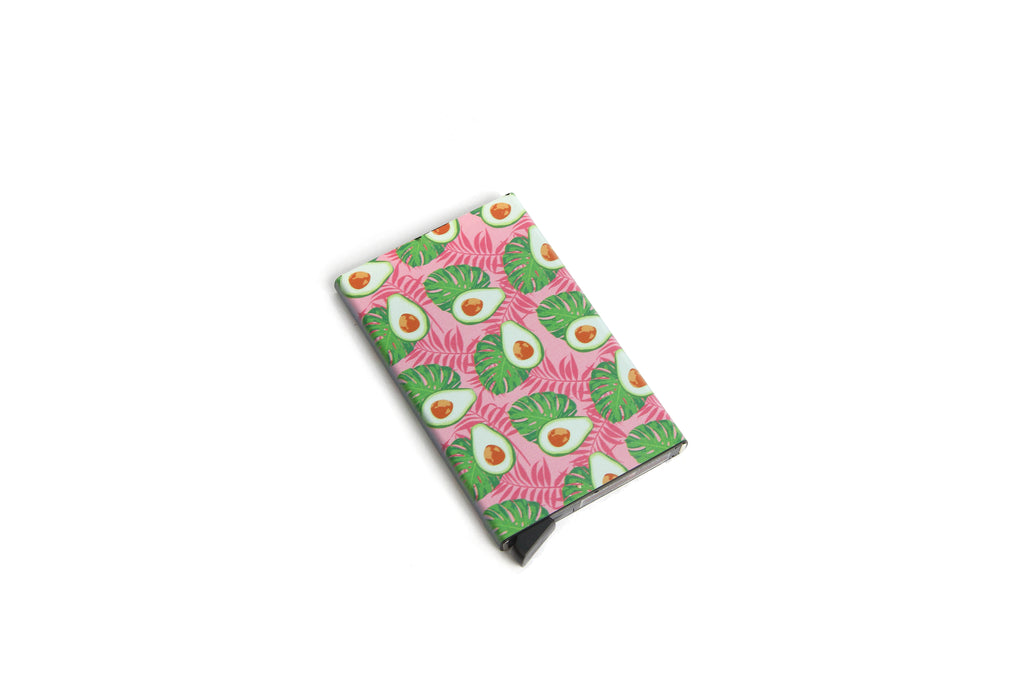 Avocado Card Holder ( Bottom Lever)