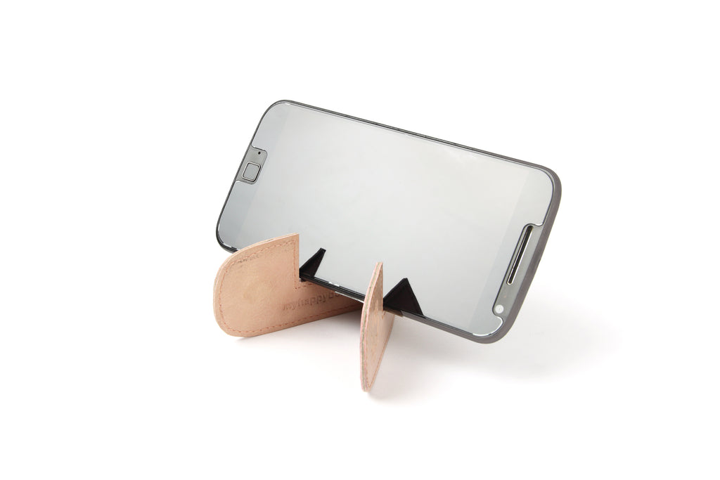 Magnetic bookmark and mobile stand - Pink