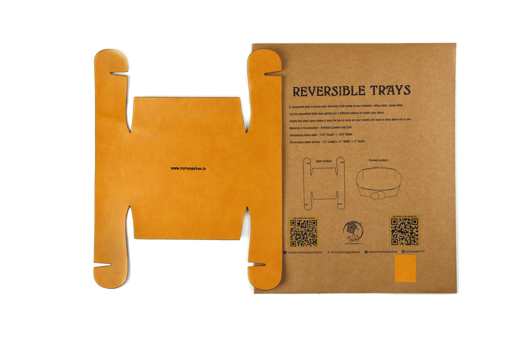 Reversible Trays - Tan