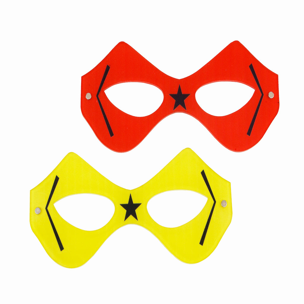Coasters Superhero Mask