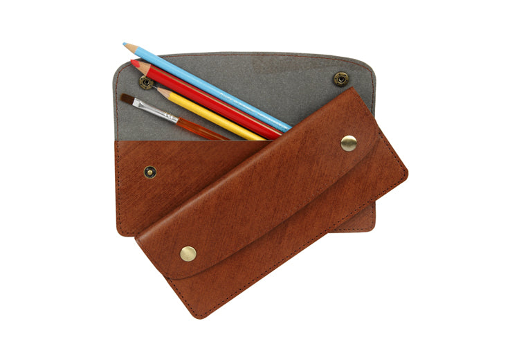 Multipurpose Horizontal Pouch - Sketch Brown