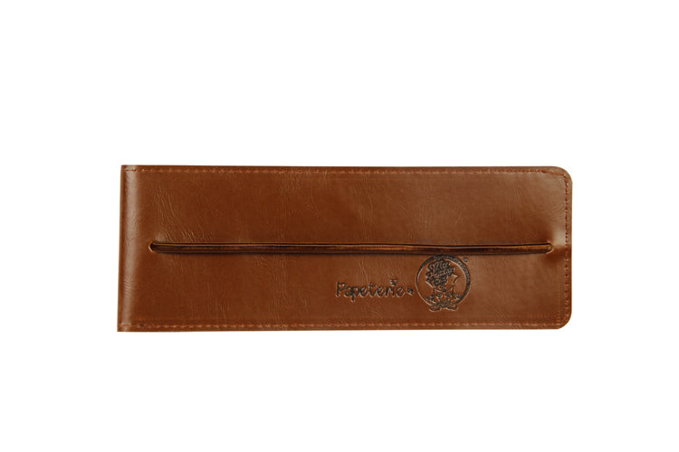 Multipurpose Vertical Pouch - Dark Brown