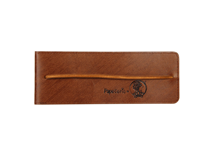Multipurpose Vertical Pouch - Sketch Brown