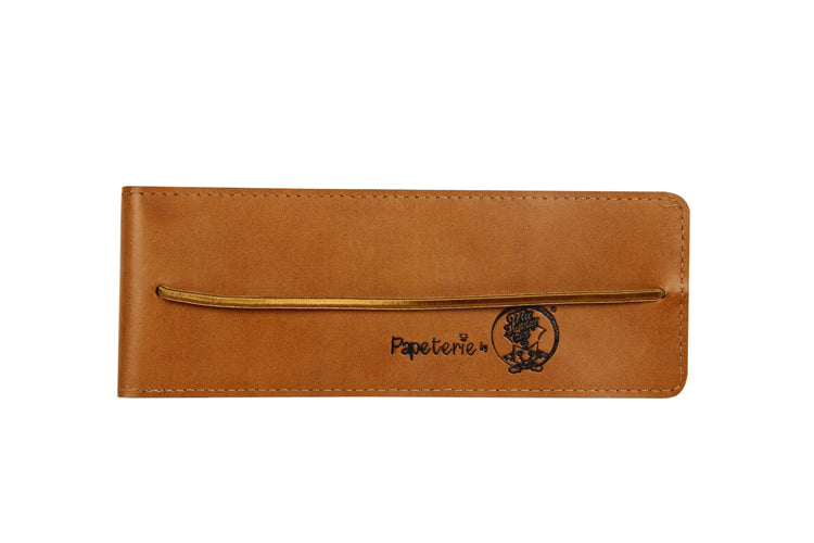 Multipurpose Vertical Pouch - Light Tan