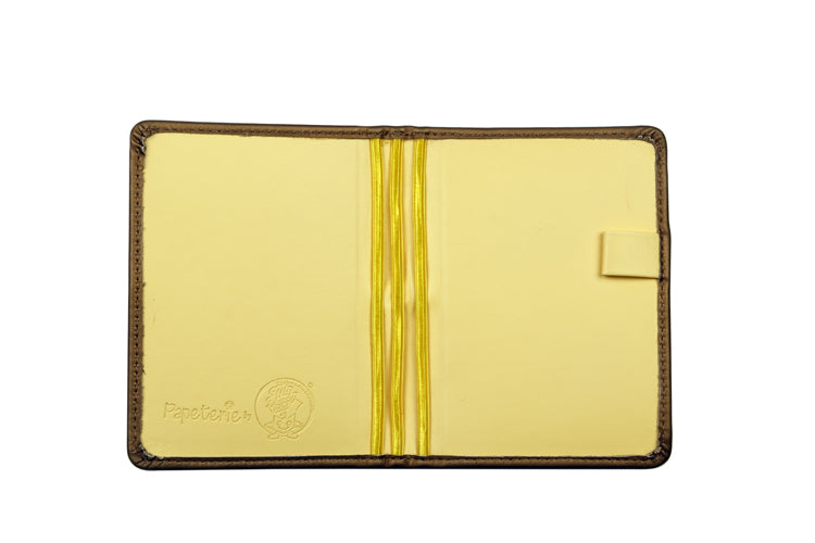Multiple Passport Holder Gold and Yellow