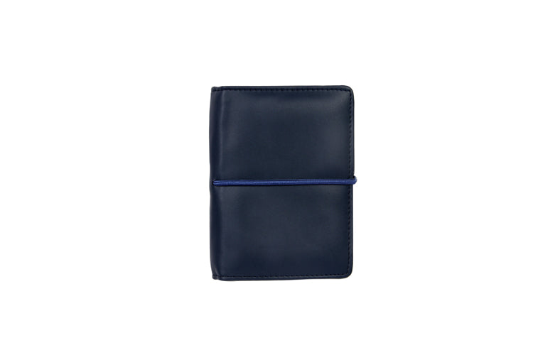 Multiple Passport Holder Royal Blue and Cork