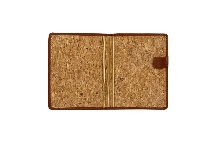 Passport and Book Holder Tan and Cork