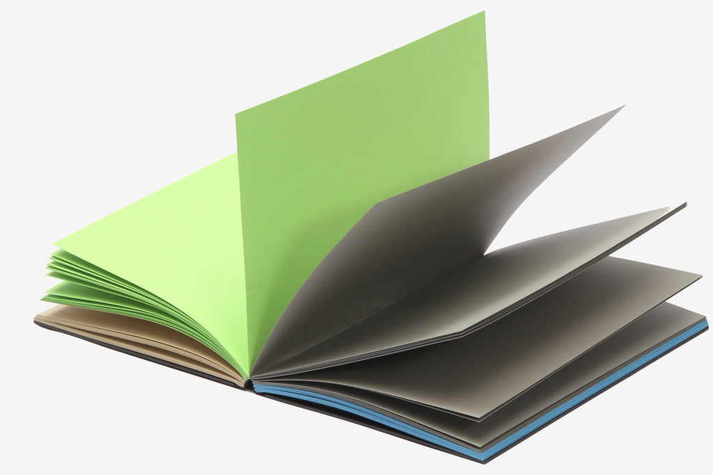 Blank 4 Colour Book