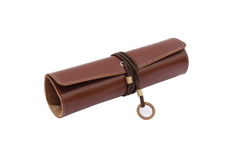 Multipurpose Roll Dark Brown and Beige