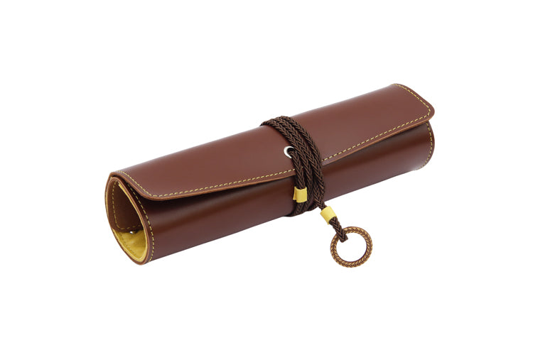 Multipurpose Roll Dark Brown and Yellow