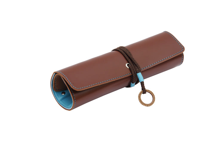 Multipurpose Roll Dark Brown and Blue