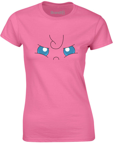 Jiggly Face | Womens T-Shirt