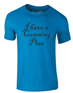 I Have A Cunning Plan | Adults T-Shirt