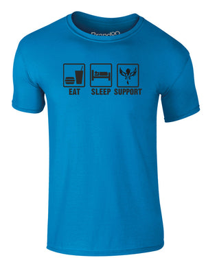 Eat Sleep Support | Adults T-Shirt