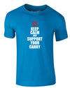 Keep Calm And Support Your Carry | Adults T-Shirt