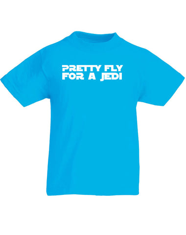 Pretty Fly For A Jedi | Kids T-Shirt