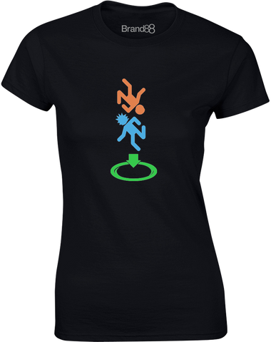 Portal Adventure | Womens T-Shirt