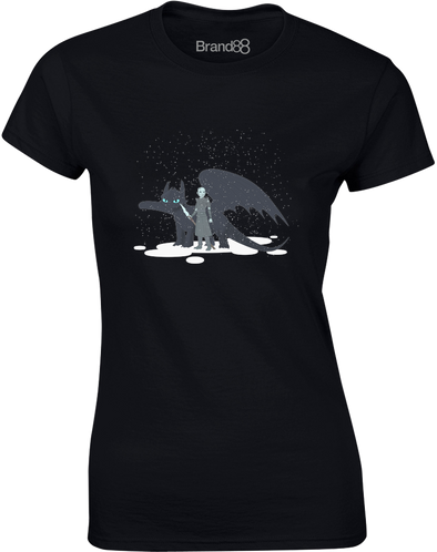 How to Train Your Ice Dragon | Womens T-Shirt