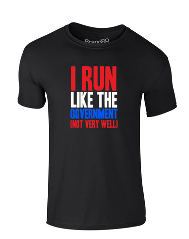 I Run Like the Government (Not Very Well) | Kids T-Shirt