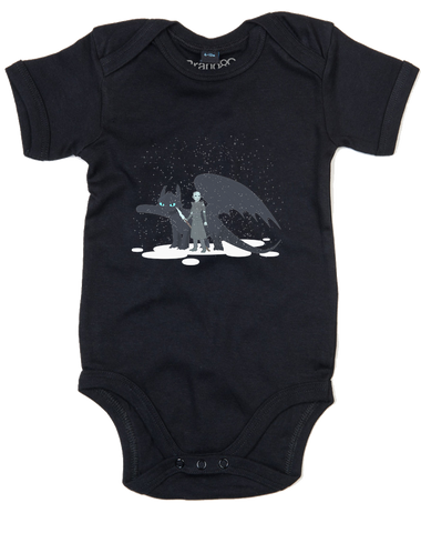 How to Train Your Ice Dragon | Baby Grow
