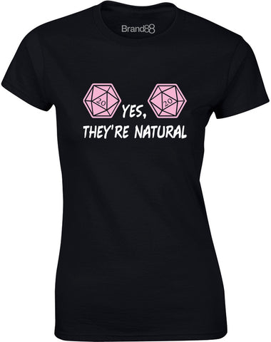 Yes, They're Natural | Womens T-Shirt