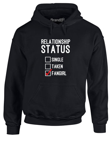 Relationship Status: Fangirl | Adults Hoodie