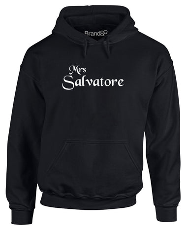 Mrs Salvatore | Adults Hoodie