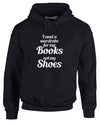 Books Before Shoes | Adults Hoodie