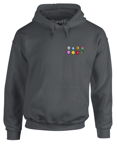 The First Eight Badges | Adults Hoodie