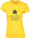 Unless You Can Be A Dragon | Womens T-Shirt