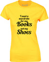 Books Before Shoes | Womens T-Shirt