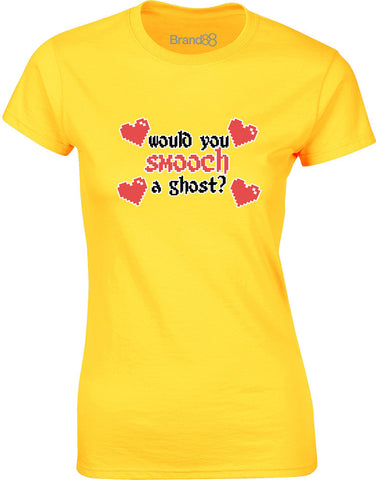 Would You Smooch a Ghost? | Womens T-Shirt