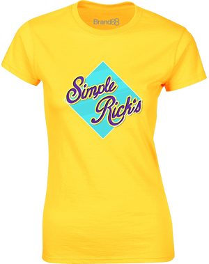 Simple Rick's Wafers | Womens T-Shirt