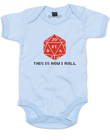 This Is How I Roll | Baby Grow